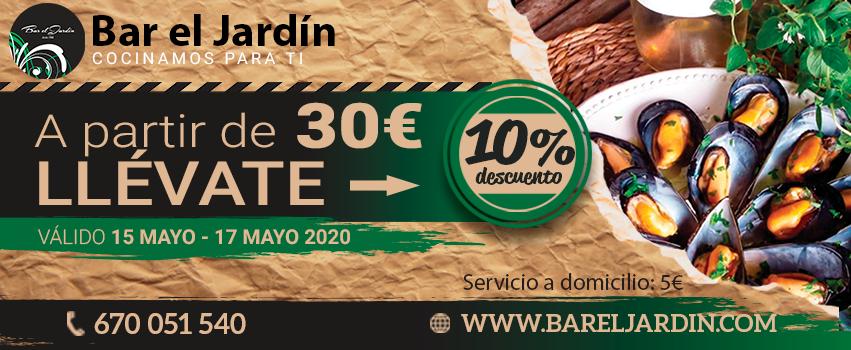 Promoción comida a domicilio Sant Andreu de la Barca