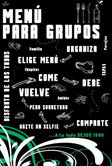 Menú para Grupos en el Baix Llobregat